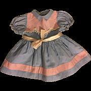Ideal Saucy Walker Pique Dress 1950s