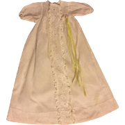 Christening Gown for Baby Dolls 1950s