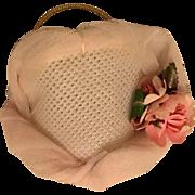"Pink Bridesmaid Madame Alexander ""Lissy"" Bandeau Hat"