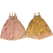 Two Fashion Doll Nightgowns 1950s