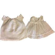 Lawn Baby Gown and Slip for Bisque and Composition Baby Dolls 1910