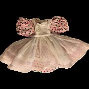 Pink Pique Dress and Pinafore P90 Ideal Toni