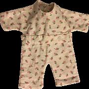 Original Effanbee Dy-Dee Ette Rosebud Pajamas 1950
