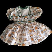 Ideal Saucy Walker Circus Dress 1952