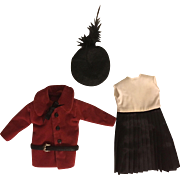 Four Piece Outfit for Bisque Dolls