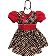 Dress for Large Hard Plastic Dolls such as P93 Ideal Toni