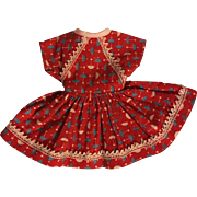 Ideal Shirley Temple Dress 1950s