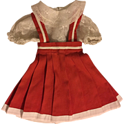 Two Piece Outfit for Bisque Dolls