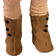 Side-Button Boots for Bisque Dolls