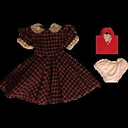 Shirtwaist Dress for Fashion Dolls 1950s