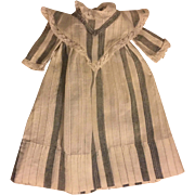 Antique Dress for Small Bisque Dolls and China heads 1900