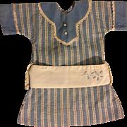 Antique Dress for Bisque Dolls 1900
