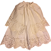 Beautiful Antique Baby Gown and Matching Cape Coat