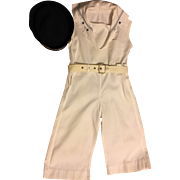 Wonderful Complete Child's Sailor Outfit 1930s