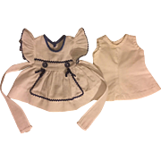 Dress and Slip for Composition Dolls 1930s
