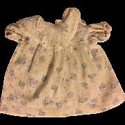 Early Effanbee Dy-Dee Baby Dress