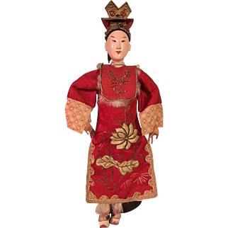 Antique Costumed Chinese Opera Doll