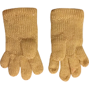 Sweet Doll Gloves with Applique