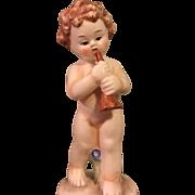Small German Cherub Figurine