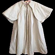 Antique Tan Child's Cape Coat 1900