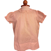 Pink Baby Dress and Slip 1940