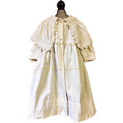 Antique Toddler Coat for Large Dolls 1880