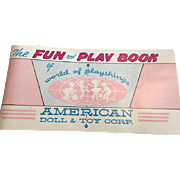 Original American Character Fun and Playbook Pamphlet