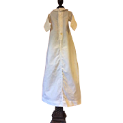 Antique Baby Doll Gown For Bisque Dolls