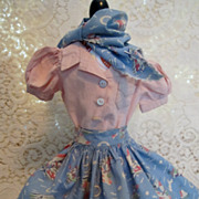 Three Piece Ensemble for 14 inch Dolls 1930's