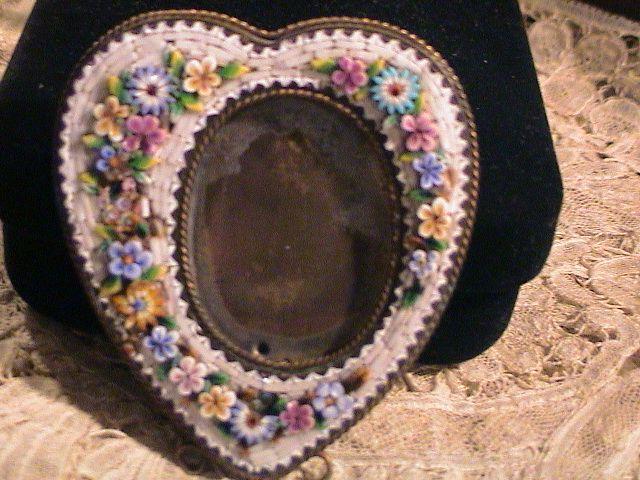 Beautiful Micro Mosaic Frame- Very Vintage
