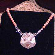 Angelic Face in Sterling Silver