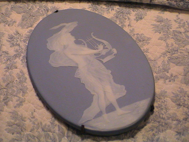 Very Lovely Pate Sur Pate Plaque