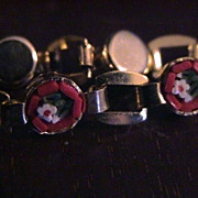 1950's Italian Micro-Mosaic  Bracelet In Excellent condition!