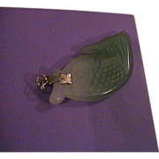 Carved Fish Jade Pendant