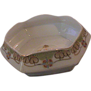 Lovely Candy Dish marked Nippon