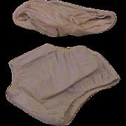 Plastic pants and Diaper