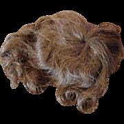 Antique Human Hair Full wig