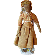Unusual Cloth Doll