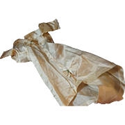 Antique Silk Wedding Gown