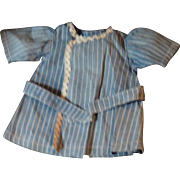 Antique Blue and White Stripped Russian Boys Dress