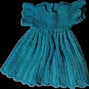 Wonderful Vintage Knit Dress
