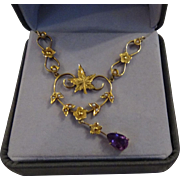 Beautiful 14k 1920's Necklace
