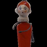 Rare Googlie Eyed Porcelain Childs or Doll Letter Opener