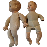 2 Effanbee Family Babies for Restoration or Parts