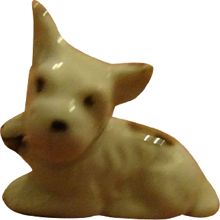 Staffordshire Porcelain Spotted Dog for your little Lady