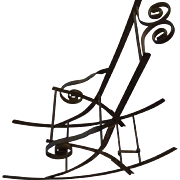 antique Metal Rocker