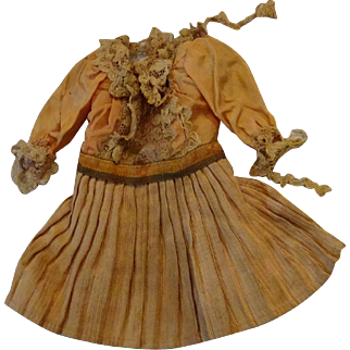 Antique Dress For Small to Medium sized doll