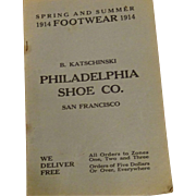 Fun Antique Shoe Catalogue from San Francisco circa 1914