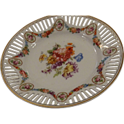 Beautiful Schumann Type Dessert Plate, Marked Germany