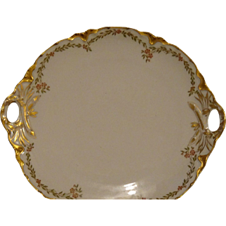 Lovely Limoges Cookie or Cake Plate